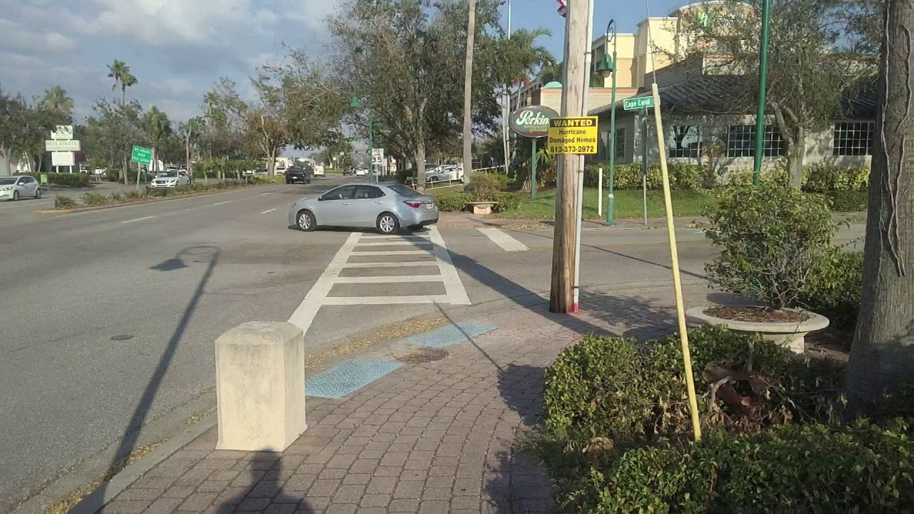 Walking Around Downtown Cape Coral Florida Youtube