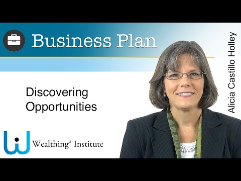 Business Plan. 4. Discovering Opportunities