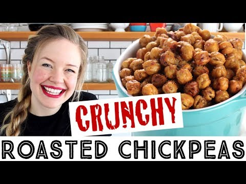 Easy Crunchy Roasted Chickpeas How to Make Crunchy Chickpeas