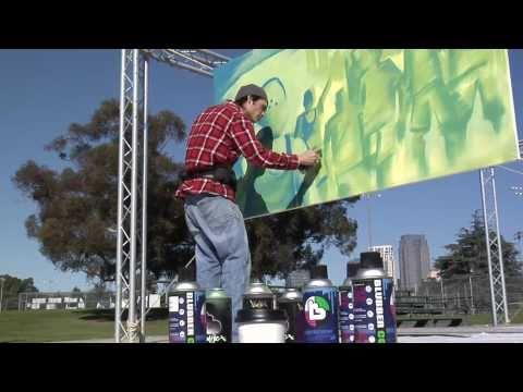 Sprite Spark Aerosol Arts Spray Paint Workshop