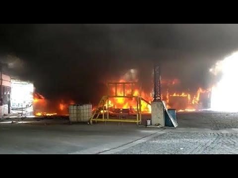 Incêndio na Garagem da Jabour