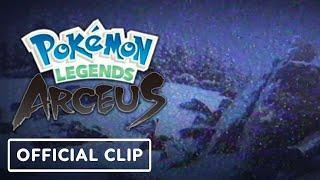 Pokemon Legends: Arceus - Official Hisui Region Found Footage Clip