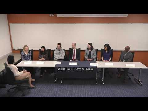 Georgetown law LL.M student life panel