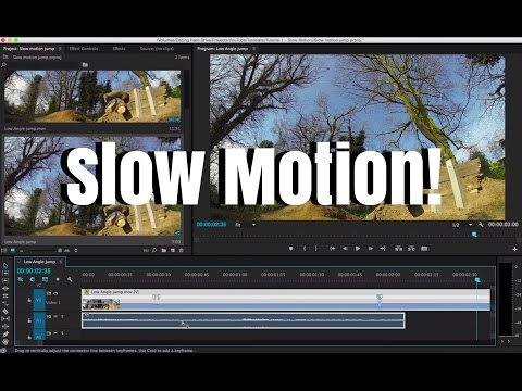 Slow Motion Tutorial! [Adobe Premiere Pro CC]