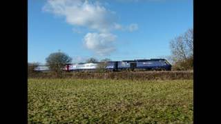 South Wales Main Line: Marshfield, Bishton, Seven Tunnel Jnc & Caldicot (08-01-2011)