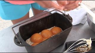 Camp Cooking Vanilla Peach dessert