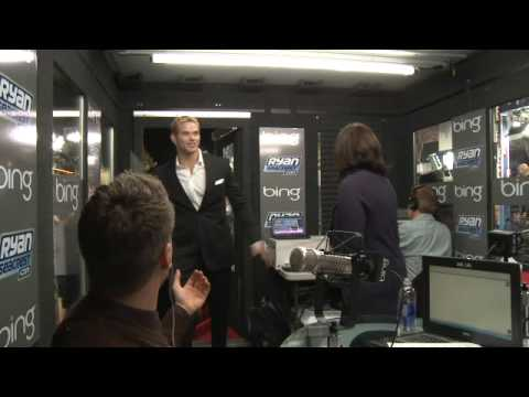Kellan Lutz Flirts with Ashley Greene | Interview | On Air With Ryan Seacrest