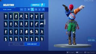 LEAKED AIRHEAD SKIN WITH EVERY FORTNITE EMOTE (except for poplock, breakdance and make it plantain)