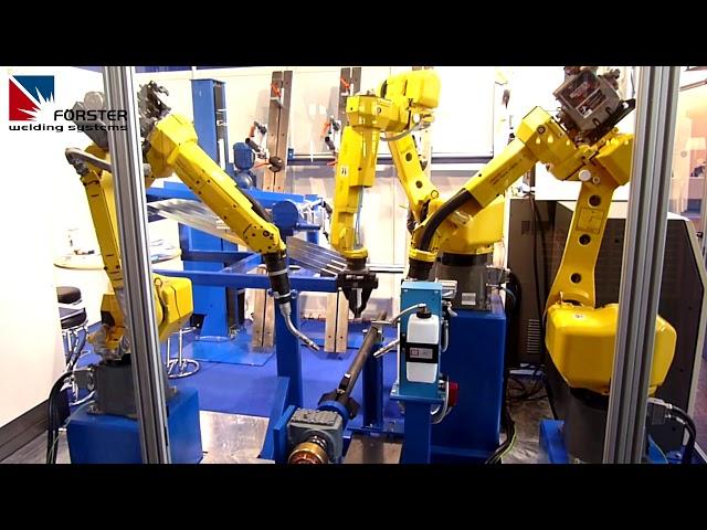 Roboterhandling und Schweißen