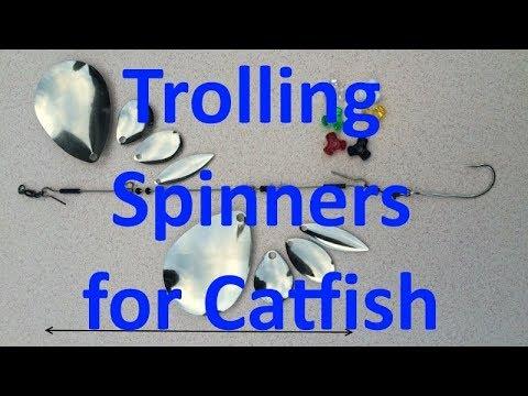 1-2-3 Fishing Rigs Kayak Trolling For Catfish (www.123FishingRigs.com)