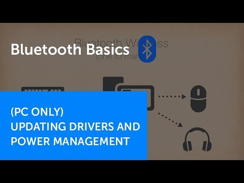 How to Update your Bluetooth Radio Driver and Power Management Settings   Bluetooth Basics Part 2