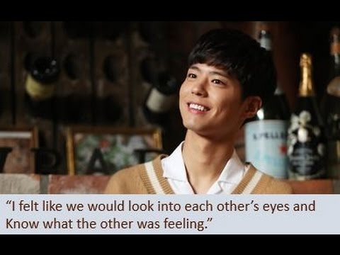 INTERVIEW Park Bo Gum & Kim Yoo Jung Post Drama (26/10/2016) Moonlight Drawn By Clouds