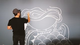 Painting A New Mural
