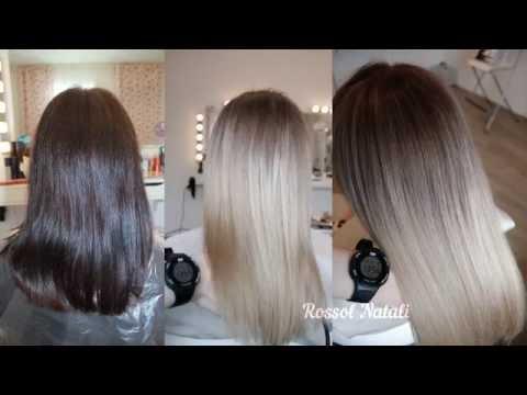 Из чёрного в блонд