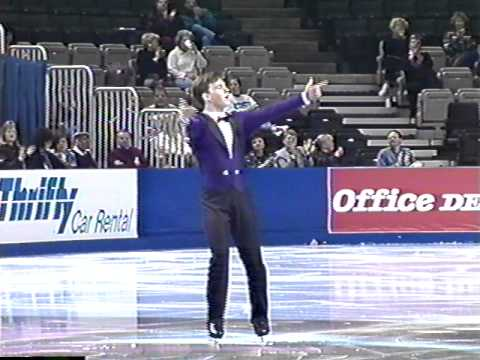 Justin Dillon - 1996 US Figure Skating National Championships, Junior Men