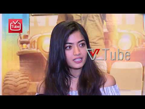 Rashmika Mandanna Talks About Anjaniputra Kannada Movie