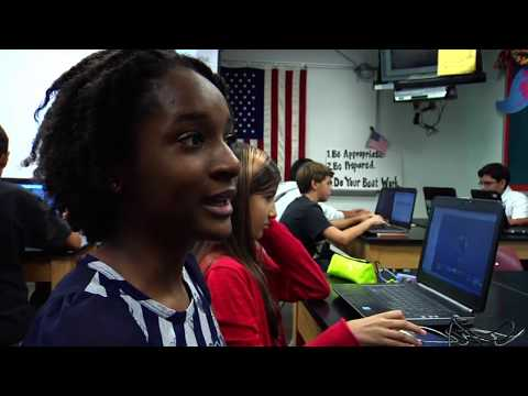 """APS - Snapshots - 6x06 - """"Lit Trips"""" at Swanson Middle School"""