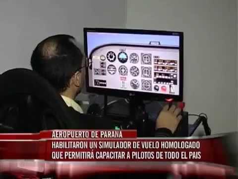 Habilitaron un simulador de vuelo homologado que permitirá capacitar a pilotos de todo el país