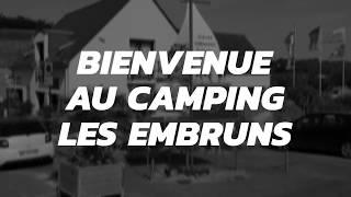Bienvenue au camping les Embruns à Clohars Carnoët !