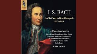 Concerto I, en Fa Majeur, BWV 1046 - IV. Menuetto & Trio - Polacca & Trio
