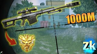 Solo Dous + Barrett x8 1000M Headshot / Rules Of Survival: Battle Royal #Ep104