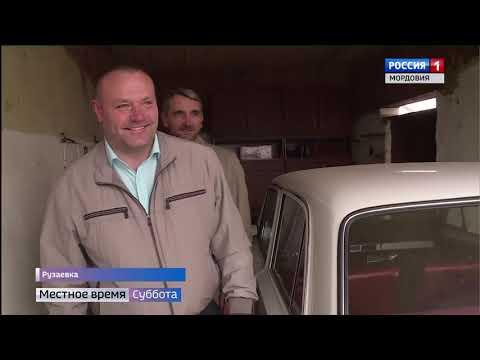 Житель Рузаевки собрал коллекцию из 73 ретро машин
