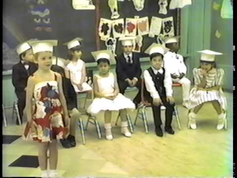 St Anthony's Grammar School Kindergarten Graduation 1985 Jersey City