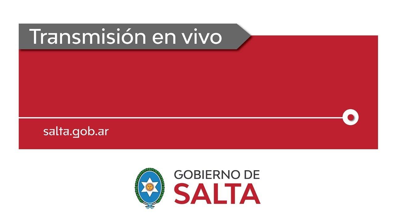(En Vivo) Gobernador Gustavo Sáenz entrega de viviendas en El Galpón