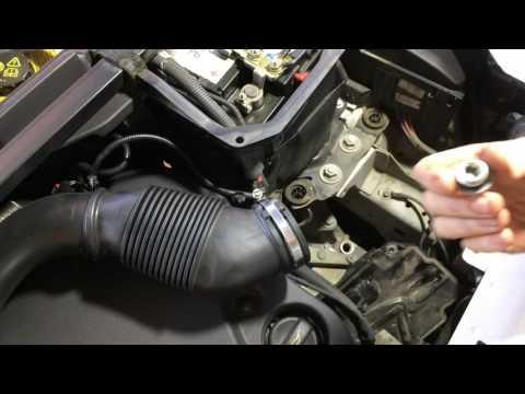 Range Rover Evoque  Ленд Ровер Эвок 2,2  2011 года  Замена масла в АКПП