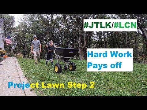 JTLK/LCN Project Lawn 2018-19 Step 2 ~ Puttin' 'er to bed