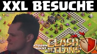 XXL BESUCHE || CLASH OF CLANS || Let's Play CoC [Deutsch/German HD]