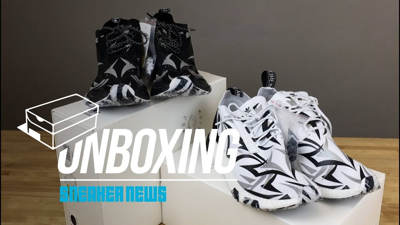 ffddf51a0e3cb Juice HK x adidas Consortium NMD Racer Unboxing - YouTube
