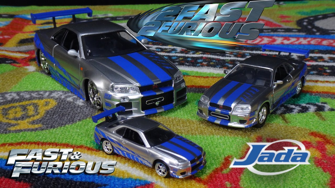 Fast & Furious - Nissan Skyline GTR 2 Fast 2 Furious ...