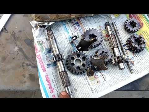 How to remove Jawa or yezdi gear box (for spares 9908220222)