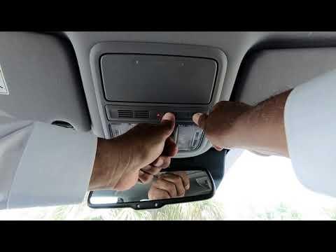 How to program my Honda Homelink Garage Door Opener