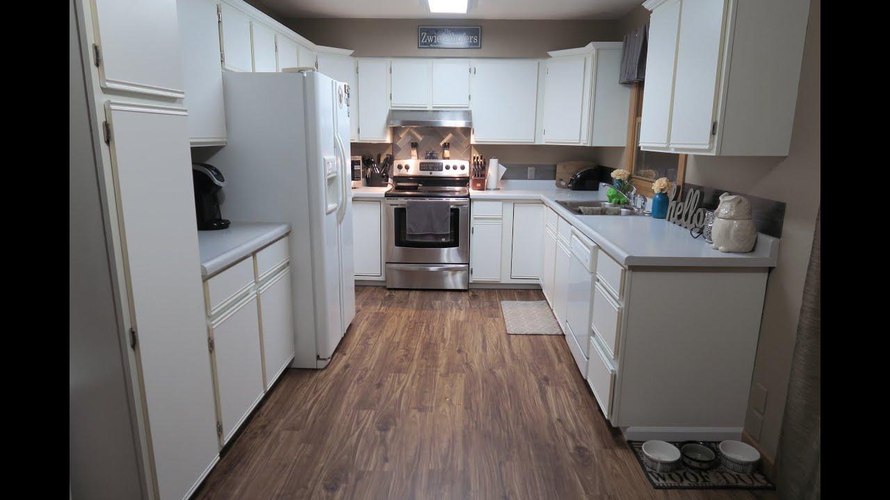 Kitchen Remodel Part 1: Flooring