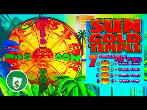 ⭐️ NEW -  Sun Gold Temple slot machine, bonus