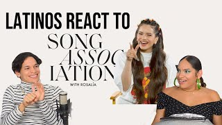 Latinos react to ROSALÍA Sings Shakira, Ozuna, in Song Association wiht ELLE| REACTION
