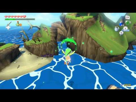Zelda Windwaker HD Heart Piece 7 Great Fish Isle FAST