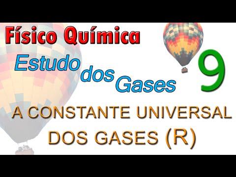 Físico Química (Estudo dos gases) - Aula 09 - A constante universal dos gases (R)