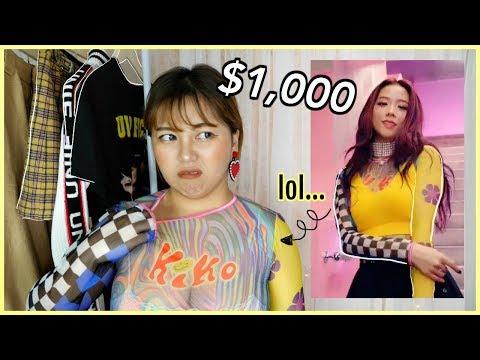 I SPENT $1,000 on BLACKPINK Clothes!