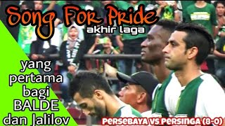 Merinding, Anthem Song For Pride Menggema diakhir laga Persebaya vs Persinga Ngawi di Stadion GBT