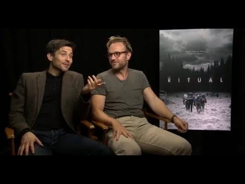 Rob JamesCollier, Rafe Spall & The Ritual team I TIFF 2017