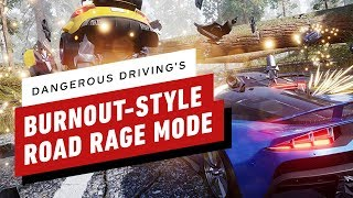 Dangerous Driving: Road Rage Mode - Supercar GOLD RUN