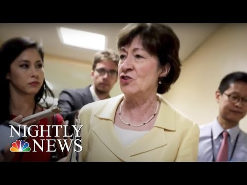 Senate Republicans Still Working To Jam Through A Health Care Bill | NBC Nightly News