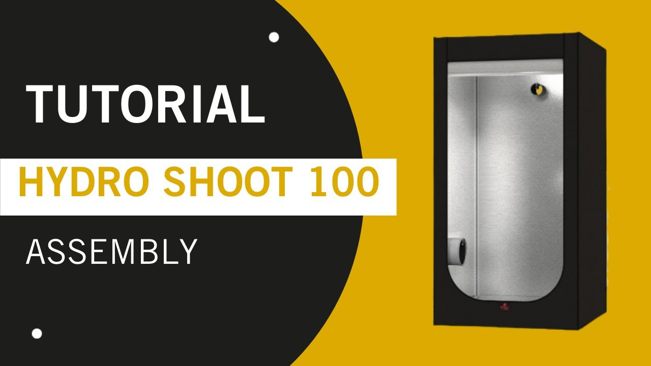 Secret Jardin Hydro Shoot 80 » Grow Tent 80x80x180 » Raja
