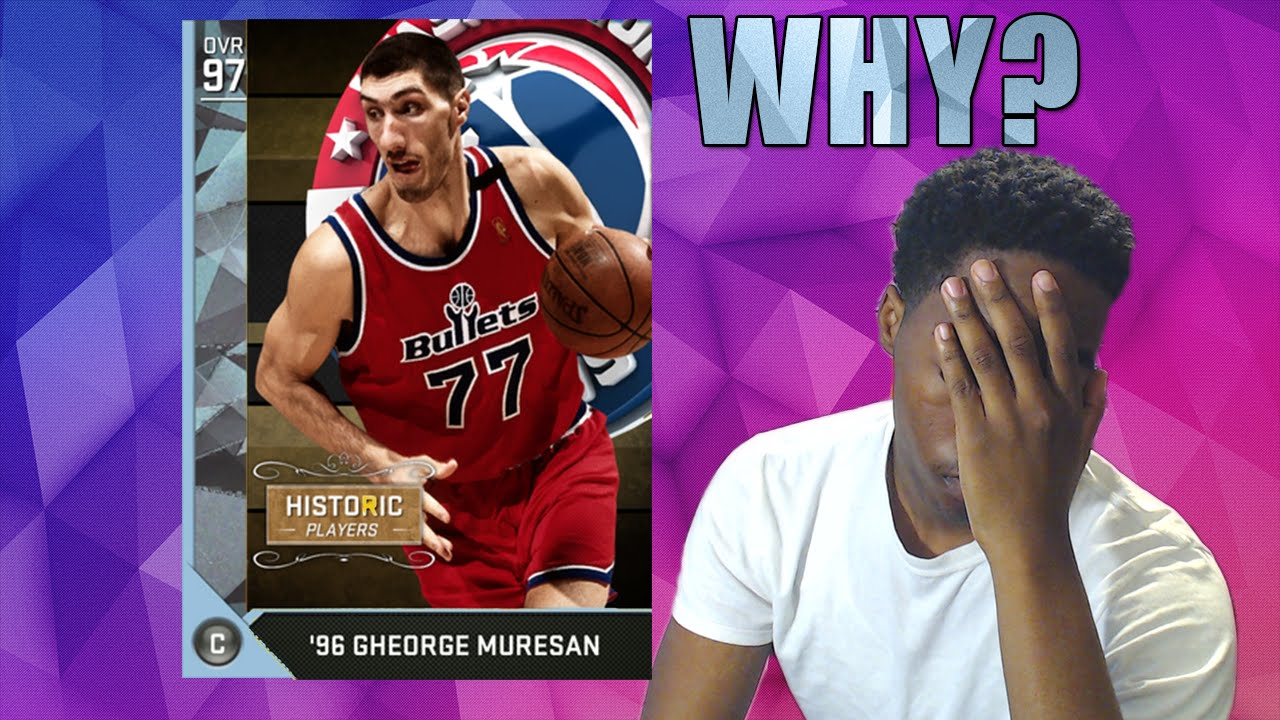 WHY PUT THIS IN THE GAME? GHEORGHE MURESAN 7 FOOT 7 CHEESE ...