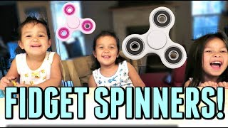 THEIR FIRST FIDGET SPINNERS! - July 19, 2017 -  ItsJudysLife Vlogs
