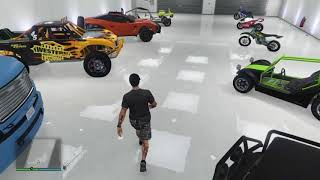 GTA 5 - My rare cars, worn, rusty and npc modified collection with 2nd character