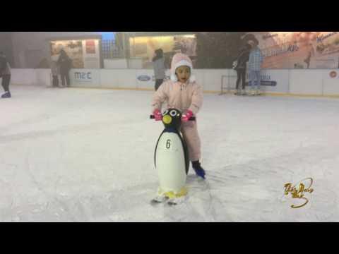 Thái Nam ►Artificial ice skating,Olympia Ice Arény,Umělé bruslení,Trượt băng nhân tạo 2016(4KUHD)